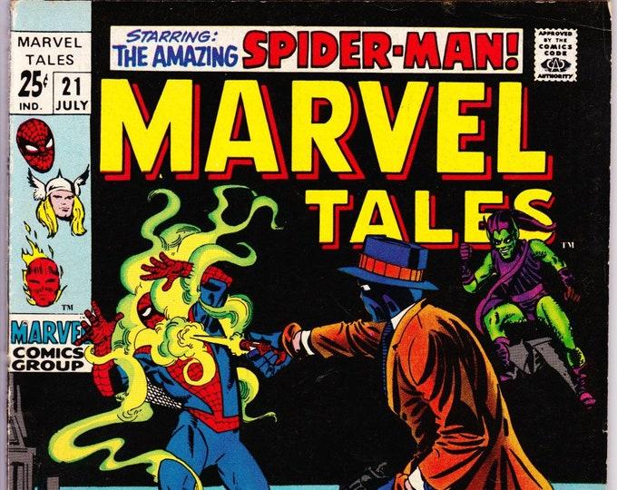Marvel Tales #21 (1964 Marvel) July 1969  Marvel Comics    Grade VG/F
