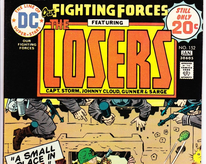 Our Fighting Forces #152 (1st Series 1954) January 1975  DC Comics  Grade VF