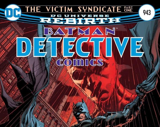 Detective Comics #943 Cover A December 2016 DC Comics Grade NM