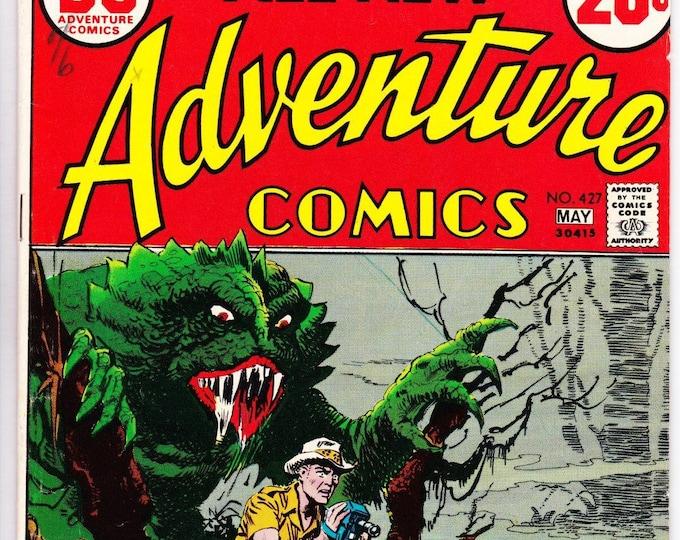Adventure Comics #427 (1938 1st Series) May 1973   DC Comics   Grade VF