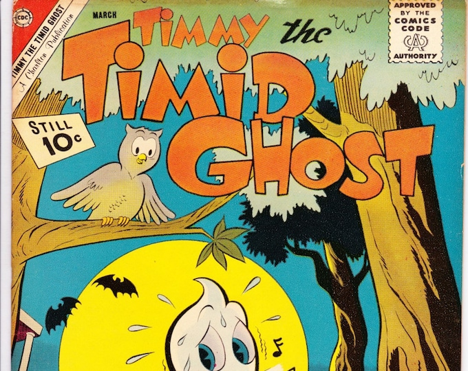 Timmy the Timid Ghost #31 (1st Series 1956) September 1962   Charlton Comics Grade Fine