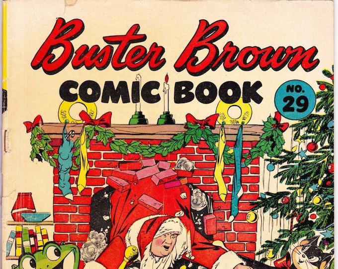 Buster Brown Comics #29 (1945) 1946   Brown Shoe Publishing   Grade VG