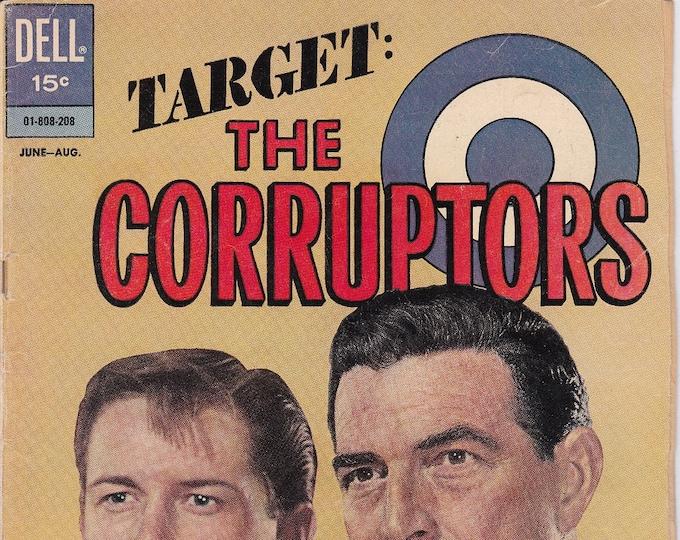 Target: The Corruptors #2   August 1962   Dell Comics   Grade VG