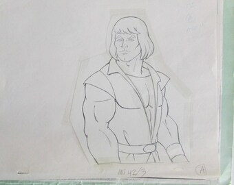 Filmation Studios Barry Caldwell He-Man Production Art Folder