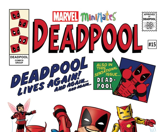 Deadpool #15 Previews San Diego Comic Con Exclusive Variant September Issue Marvel Comics Grade NM