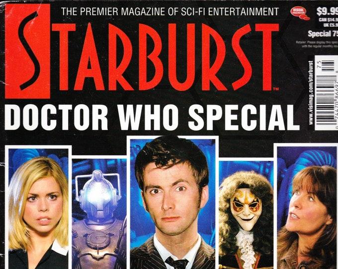 Starburst Magazine Special #75 Doctor Who Special Issue Photos Interviews Battlestar Galactica X-Men 3 Superman Returns Stargate Atlantis