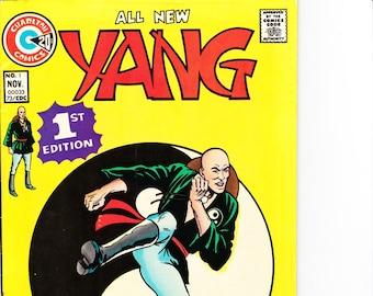 Yang #1   Charlton Comics Group   November 1973  Grade F/VF