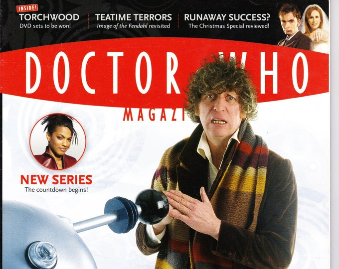 Doctor Who Magazine #379 Up to Scratch? Doctor Who Meets Scratchman Tom Baker Daleks Invade Manhattan! Torchwood Panini Publishing