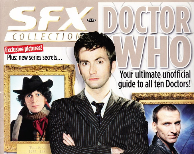 SFX Magazine Collection #24 Doctor Who The Ultimate Unofficial Guide To All Ten Doctors! Photos Interviews Future Publications (UK)