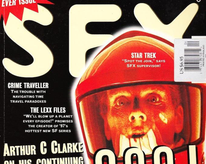 SFX Magazine #24 April 1997 Future Publications (UK) Arthur C Clark 3001 Batman & Robin Lexx Time Travel Paradoxes!