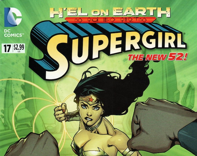 Supergirl #17 April Issue DC Comics Grade NM