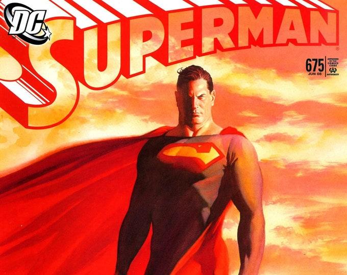 Superman #675 June 2008 DC Comics Grade NM