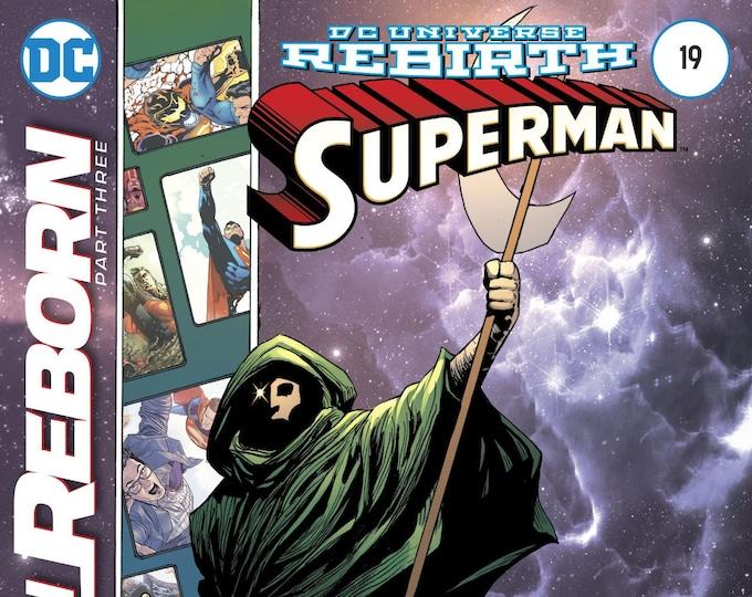Superman #19 Cover A (Superman Reborn!) May 2017 DC Comics Grade NM