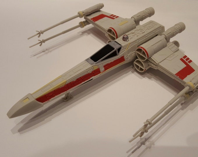 Star Wars Rogue One X-Wing Fighter 2016 Hasbro Rare Sold Through Aldi Stores In UK