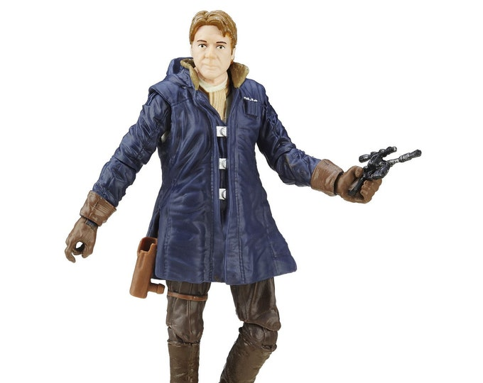 Walmart Exclusive Star Wars Black Series The Force Awakens Han Solo Action Figure