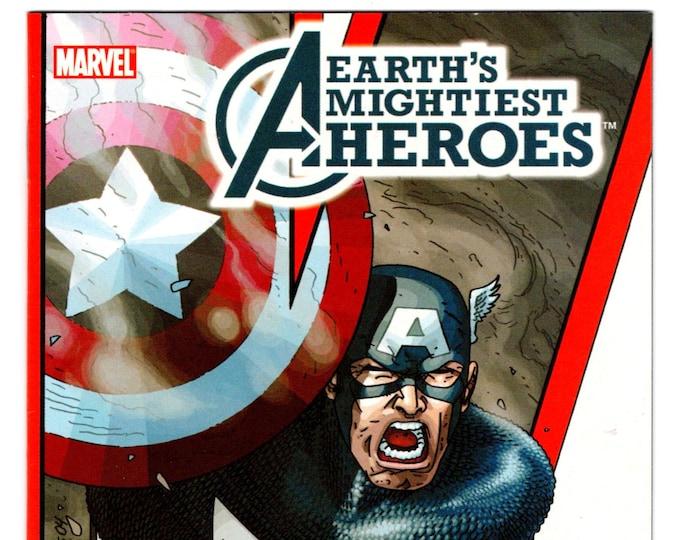 Avengers Earth's Mightiest Heroes RARE DVD Promo One Shot Comic  February 2006   Marvel Comics   Grade NM