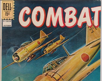 Combat #2 (1st Series 1961) January 1962  Dell Comics  Grade VF