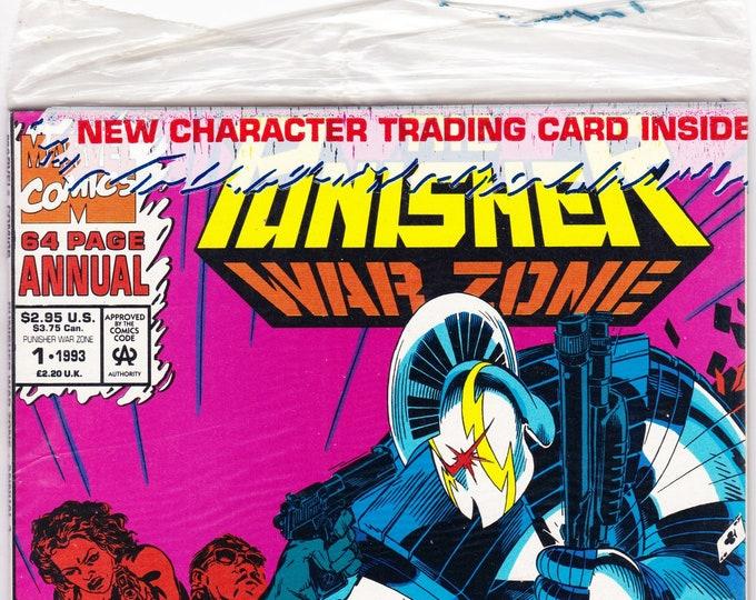 Punisher War Zone Annual #1P    July 1993    Marvel Comics   Grade NM