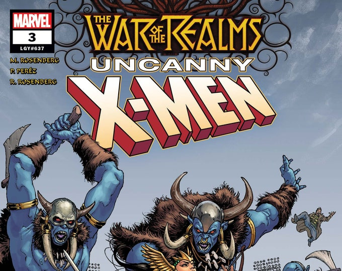 The War of the Realms Uncanny X-Men #3 Cover A August Issue Marvel Comics Grade NM