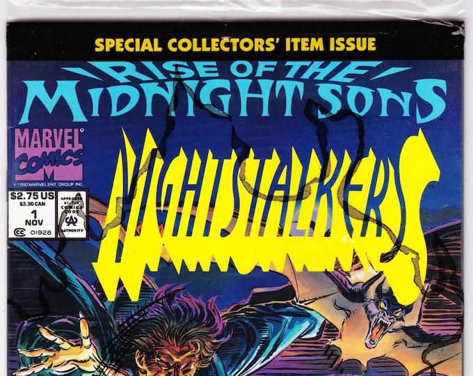 Nightstalkers #1P  November 1992   Marvel Comics   Grade MIP
