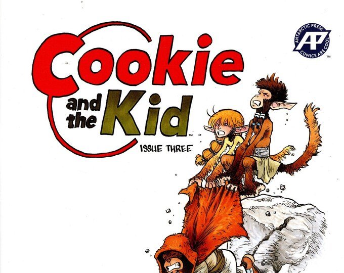 Cookie and the Kid #3 2018 Antarctic Press Grade NM