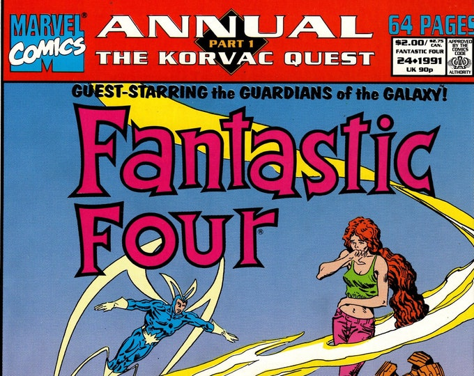 Fantastic Four Annual #24   1991  Marvel Comics   Grade NM