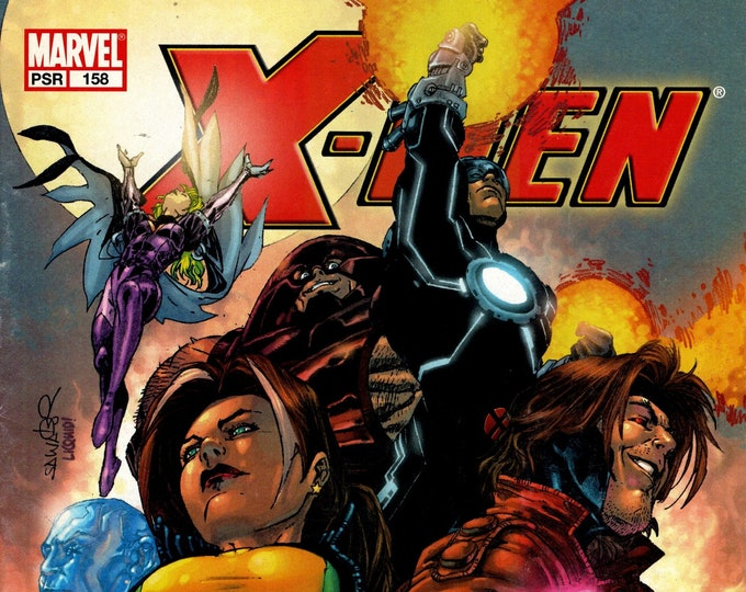 X-Men #158 (Day of the Atom) August Issue Marvel Comics  Grade VF