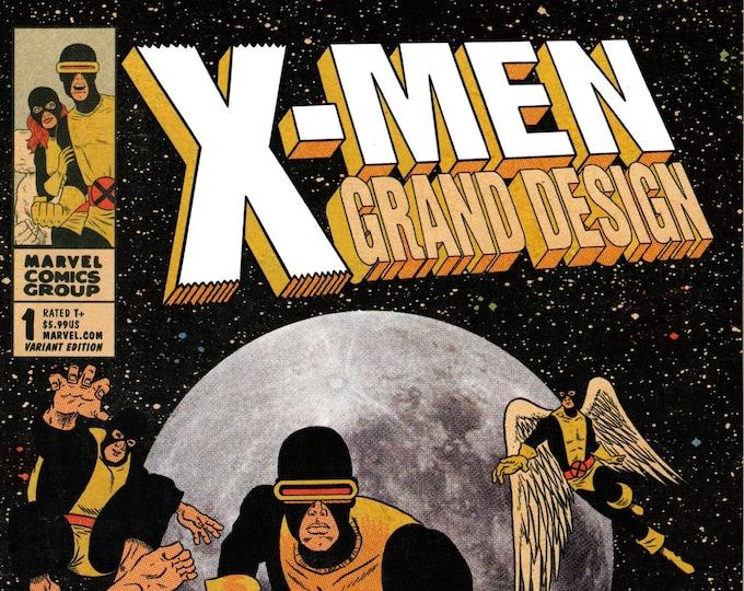 X-Men Grand Design #1 BAM! Variant Cover February Issue  Marvel Comics  Grade NM