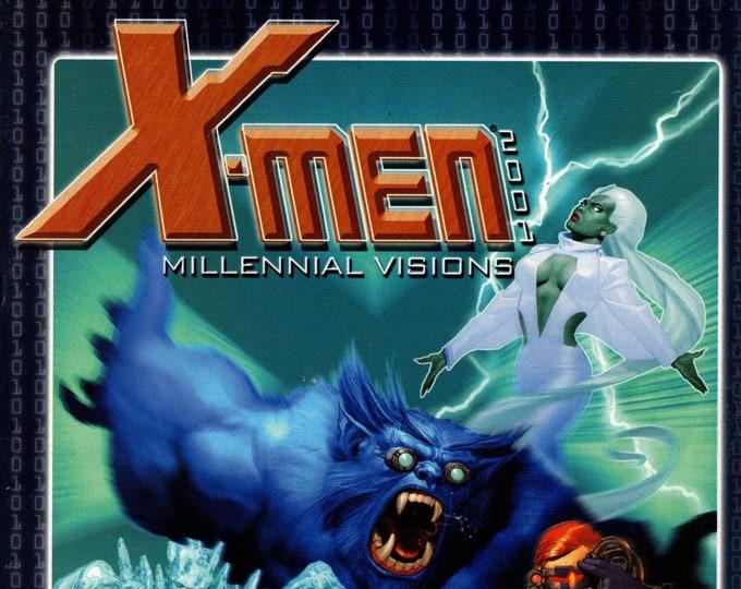 X-Men Millennial Vision  #2001  January 2002  Marvel Comics   Grade VF