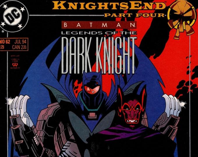 Batman Legends of the Dark Knight #62 (1989 Series) July  1994  DC Comics   Grade NM