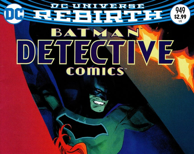 Detective Comics #949 Cover B March 2017 DC Comics Grade NM