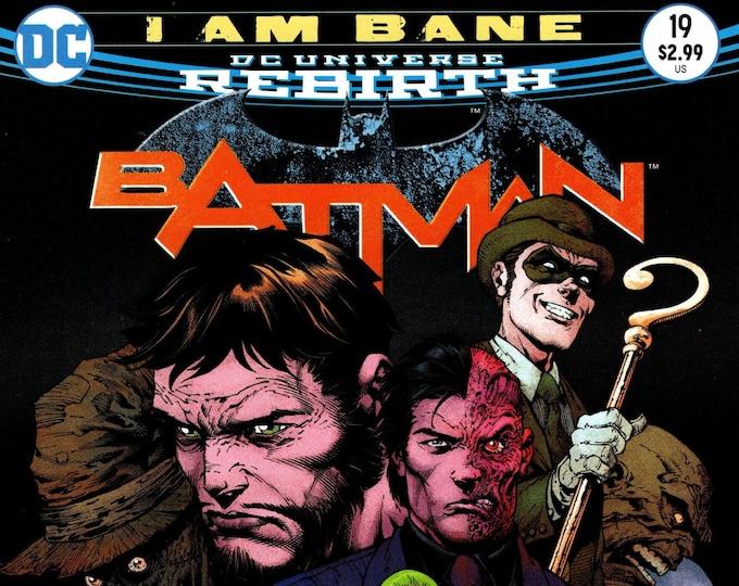 Batman #19 Cover A May 2017 DC Comics Grade NM