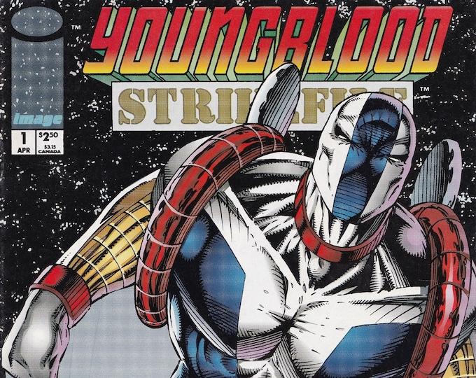 Youngblood Strikefile #1A      April 1993       Image Comics     Grade NM