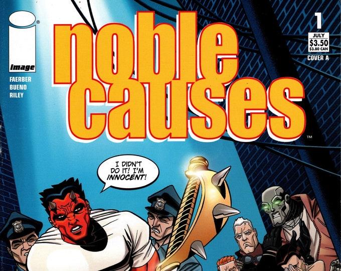 Noble Causes #1 July 2004 Image Comics Grade VF
