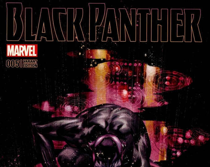 Black Panther #5 Fried Pie Variant Cover October Issue  Marvel Comics Grade NM