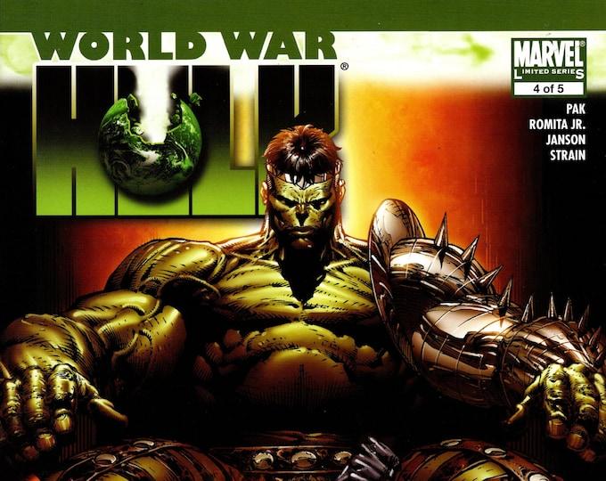 World War Hulk #4 November Issue Marvel Comics  Grade NM