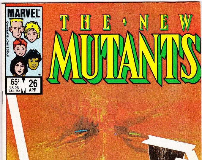 New Mutants #26 (1983 1st Series) September 1985  Marvel Comics Grade NM  1st Legion