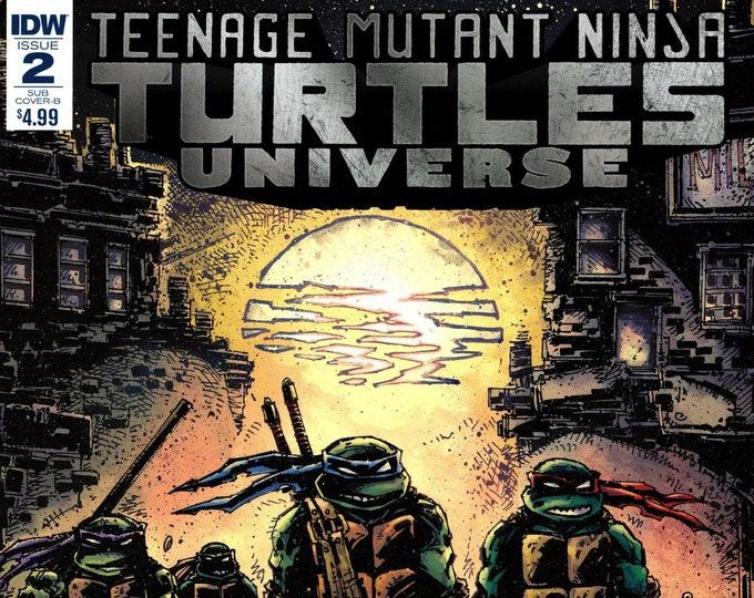 Teenage Mutant Ninja Turtles Universe #2 Subscription Exclusive Cover B September Issue IDW Comics Grade NM