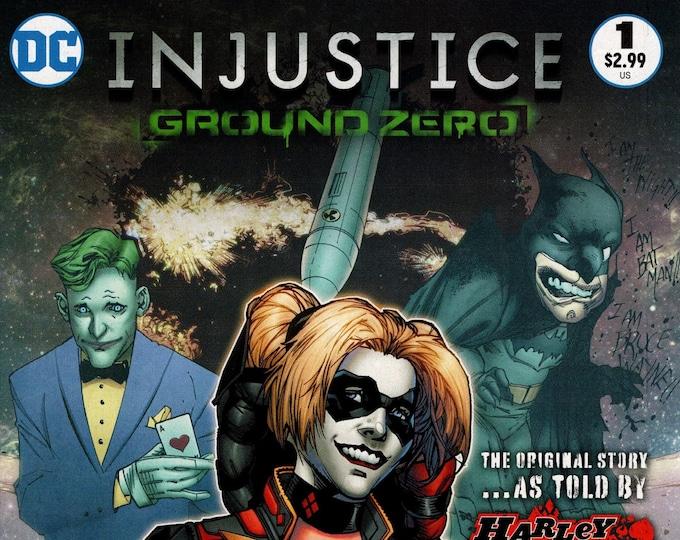 Injustice Ground Zero #1 Cover B February Issue DC Comics  Grade NM