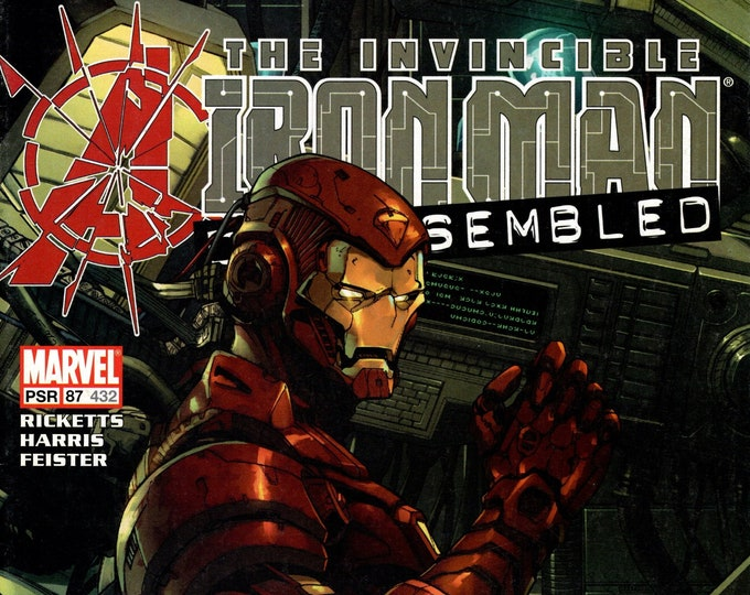 Iron Man #87 (Avengers Disassembled) October Issue  Marvel Comics  Grade NM