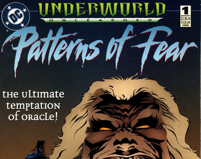 Patterns of Fear #1 (Underworlds Unleashed) December 1995 Issue DC Comics Grade NM