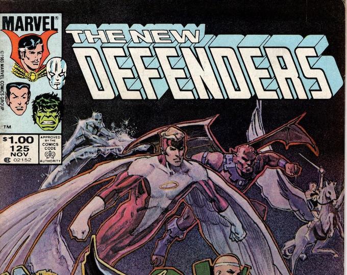 Defenders #125 (1st Series 1972) November 1983   Marvel Comics   Grade F/VF