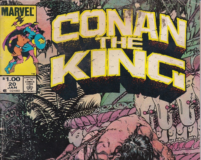 Conan the King  #20 (1980) January 1984   Marvel Comics  Grade VG