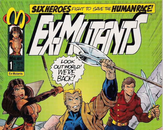 Ex-Mutants #1A (1992 2nd Series) November 1992  Malibu Comics  Grade NM