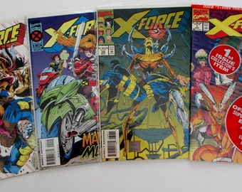 X-Force #1, 39, 40, 41 Grade NM   4 for 5 Dollars