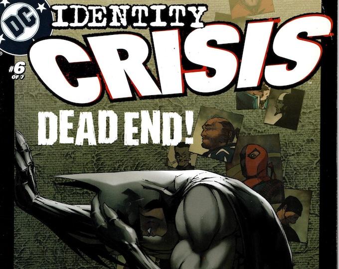 Identity Crisis #6 January Issue DC Comics Grade F/VF