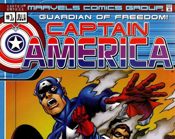 Captain America #1 (2000 One Shot) July 2000  Marvel Comics  Grade VF