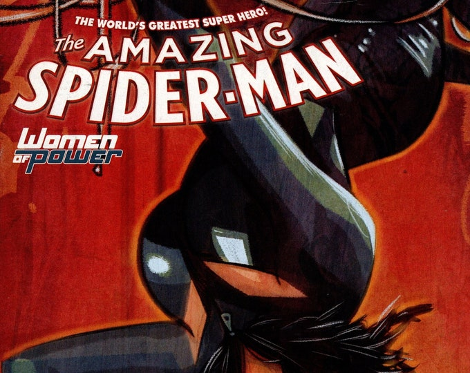 Amazing Spider-Man #9 Cover B Variant Black Cat Women of Power Cover May Issue Marvel Comics Grade NM