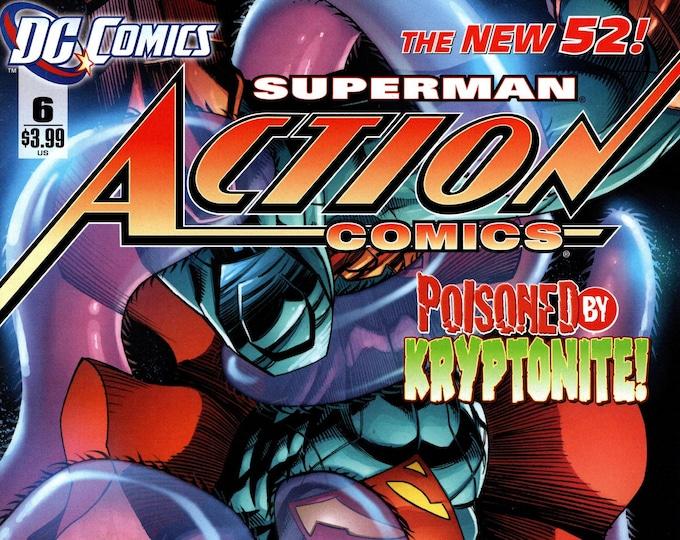Action Comics #6  April Issue DC Comics Grade NM