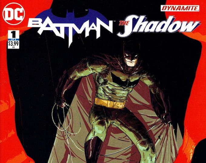 Batman The Shadow #1 June 2017 DC Comics  Grade NM